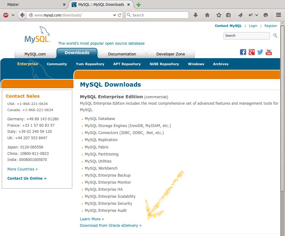 Download MySQL Enterprise Features | FromDual